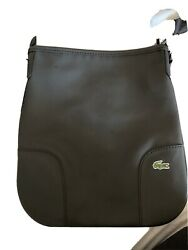 Lacoste Women Black Crossbody Bag One Size $30.00
