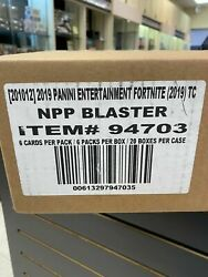 Case Of Fortnite Series 1 Trading Card Blaster Box 2019 Contains 20 Boxes Holo