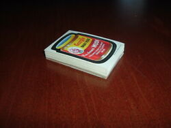 1973 Topps Wacky Packages 2nd Series White Back Stickers Complete Set Sharp