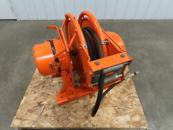 Gleason Sm100-47-85-6535-1 Heavy Duty Electric Cable Reel 75 Amp 50and039 8/4 600v