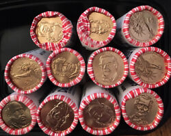 10 Different Presidential Dollar Coins Uncirculated Us Mint New From Wrappers