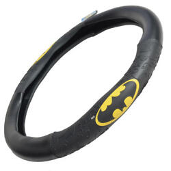 Batman Leather Steering Wheel Cover Universal Size For Car Truck Suv 14.5-15.5
