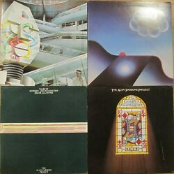 The Alan Parsons Project Lp And 45 Lot Best Of I Robot Turn Of Friendly Card + Ex+
