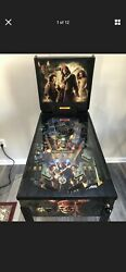 Rare Zizzle Pirates Of The Caribbean Dead Manand039s Chest Pinball Machine New