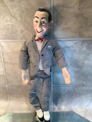 17 Inch Pee Wee Herman Pull-string Talking Doll Matchbox Toys 1987 Preowned