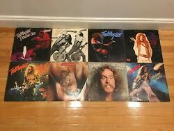 Lot Of 8 Ted Nugent Vintage Vinyl Record Lp Classic Rock