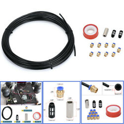 1/4 20m Car Hydraulic Line Brake Hose Pneumatic Air Pipe Connect Fittings