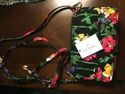Vera Bradley All In One Crossbody For iPhone 6 Wildflower Garden NWT $15.99