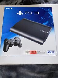 Sony Playstation 3 Super Slim 500gb Console, Cech-4301c Unopened Factory Sealed