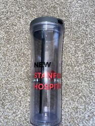 Stanford Health Care New Stanford Hospital Water Bottle - Red And Clear Medicine