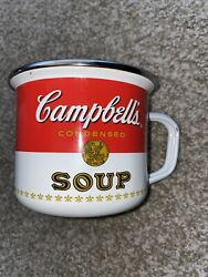 Campbell's Houston Harvest Condensed Tomato Soup Cup Bowl Mug Metal 2017