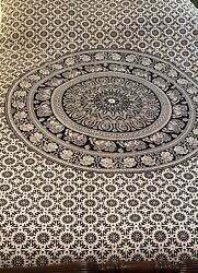 Indian Twin Hippie Tapestry Throw Bohemian Bedspread Wall Hanging 52 X 78