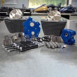 Sands M8 Power Package 124 Water Cooled Chain Drive Highlighted Fins Black Tubes