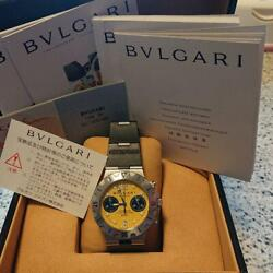 Auth Bvlgari Watch Limited Model F/s