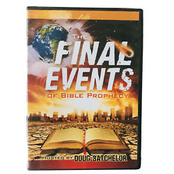 The Final Events Of Bible Prophecy Hosted By Doug Batchelor Dvd, No Digital Copy