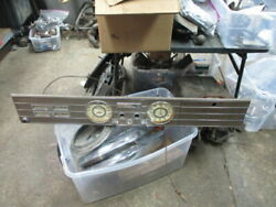 1937 Cadillac 75 Series Dash Assembly Missing Map Light And Cigarette Lighter