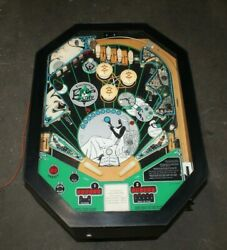 Vintage 1979 Fascination Eros One Table Pinball Machine Working Condition