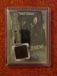 Jericho Tv Show Trading Card - Pieceworks Kenneth Mitchell As Eric Green