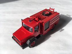 Lbk48 - Solido Iveco Fire Service Truck Made In France