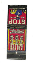 Neat Vintage Pep Boys Auto Accessories And Tires Matchbook