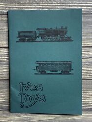 Vintage Catalog Ives Toys Locomotives Tracks Switches Model Train Accessories
