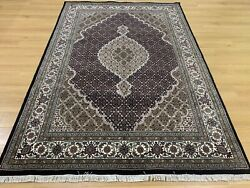 Large Oriental Persian Hand Knotted Wool Rug Carpetfloor Room Decor 245x169 Cm