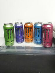 Monster Energy Lot 5 Variant Can Zero Sugar Zero Calorie New Discontinued Canada