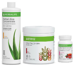Herbalife Aloe + Tea + Fiber Fast Shipping From Usa All Flavors