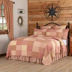 Sawyer Mill Red Quilt - Complete Your Set With Euro Sham Pillow Cases Bed Skirt