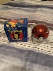 Vintage 1999 Burger King Pokemon 23k Gold Plated Trading Card Charizard With Box