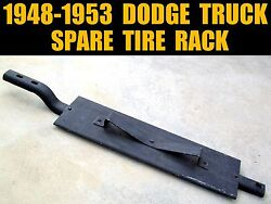 Vintage 1948-1953 Dodge Truck Spare Tire Bracket Rack 1949 1950 1951 1952 Pickup