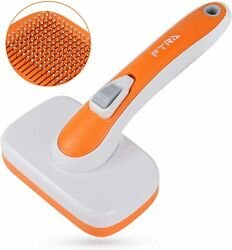 Dog Brush amp; Cat BrushPet Grooming Comb with Massages ParticleRemoves Undercoat