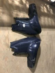 2005-2012 Evinrude Etec Side Cover Chaps Blue Both Sides 200hp-300hp