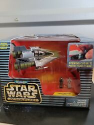 Star Wars Micromachines Action Fleet A-wing Starfighter Sealed