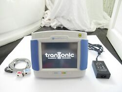 Transonic Systems Hd03 Touch Portable Patient Hemodialysis Dialysis Monitor Uk