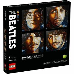 Lego 31198 Art The Beatles Collectible Creative Building Kit New With Sealed Box