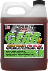 Rev-x Gear-h Sae 85w-140 Gl-5 High Performance Semi Synthetic Differential Fluid