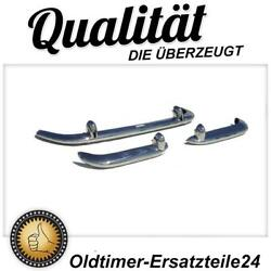 Stainless Steel Bumper Set For Alfa-romeo Giulietta And Guilia Spider Series 1