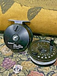 Scientific Anglers System 2 6/7l Trout Fly Reel And Spool With Two Fly Lines