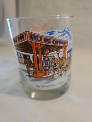 Vintage Gulf Collectorand039s Series Glasses Gulf Oil And Gas Company