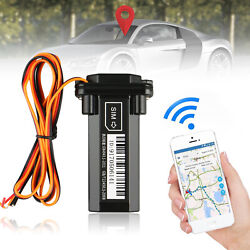 Us Car Moto Vehicle Gps Tracker Gt02 Realtime Gsm Gprs Locator Tracking Device