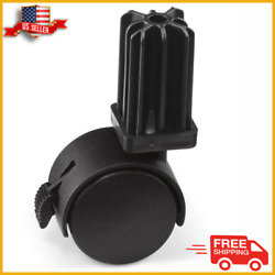 2 Pack Caster Wheel Replacement Weber Gas Grill Replacement Grill Part - New
