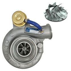 Rct Stock Replacement Turbocharger With Billet Wheel For 1998.5 Ram 5.9l Cummins