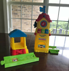 Vtech Go Go Smart Wheels Train Station Playset Replacement Pieces Lights Sound
