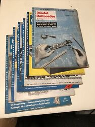 Lot 11 Model Railroader Magazine Year 1953 Issues Vintage Trains Collectible