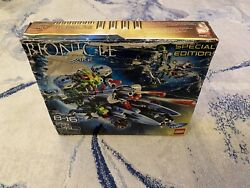 Lego Bionicles Lesovikk 8939 New In Open And Damaged Box, Retired