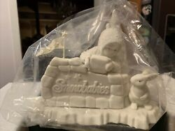 Dept 56 Snowbabies Where Did You Come From 68560 Large Figurine Retired New Box