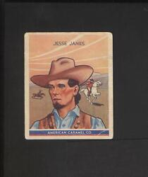 1930 R14 American Caramel Historical Characters 1 Jesse James Outlaw