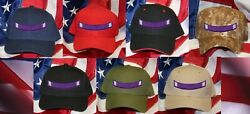 Purple Heart Medal Ribbon Tab Hat Patch Cap Combatwounded Pin Up Us Armed Forces