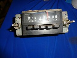 1974 Ford Torino Radio Untested Stored Inside A